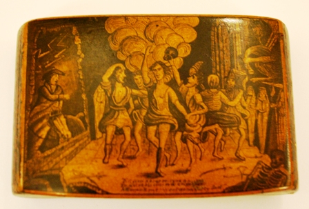 Witches Dance © Robert Burns Beyond Text, 2011. Pen and Ink Snuff Box - Robert Burns Birthplace Museum
