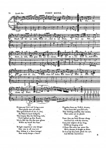 'Scotch Air' appearing in The Singer's Preceptor by Domenico Corri, 1810